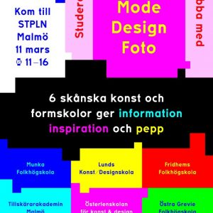 Konst & design finns på STPLN den 11 mars!