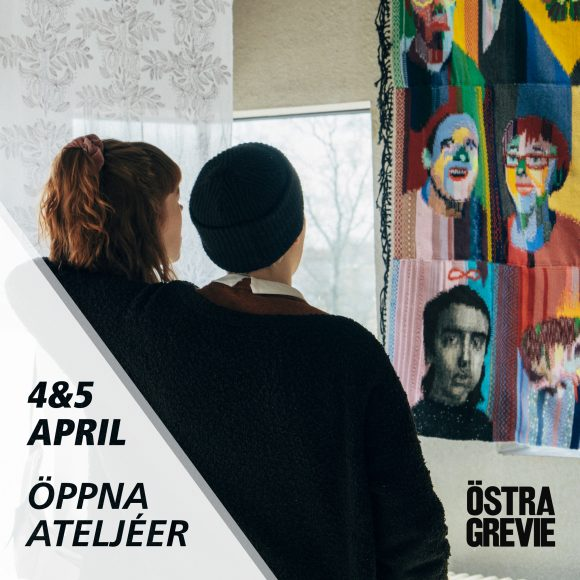ÖPPNA ATELJÈER 4-5 april -18